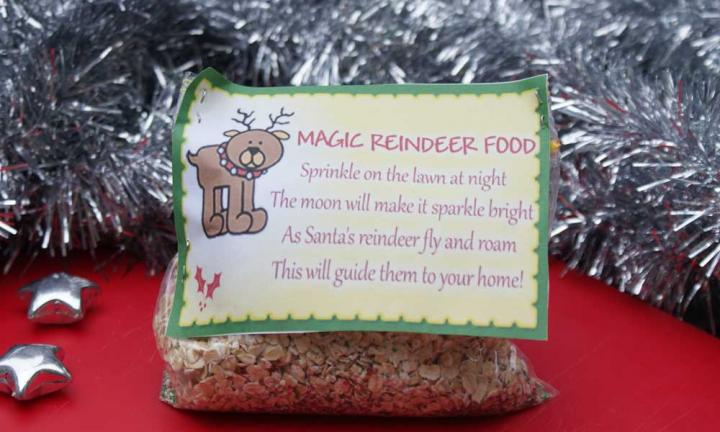 magic reindeer food oats
